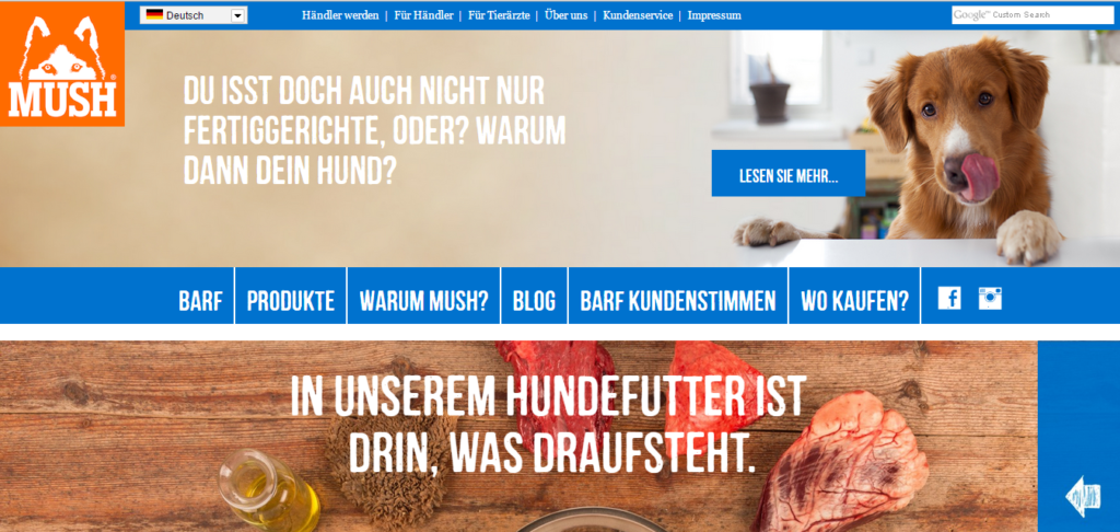 Homepage MUSH-BARF