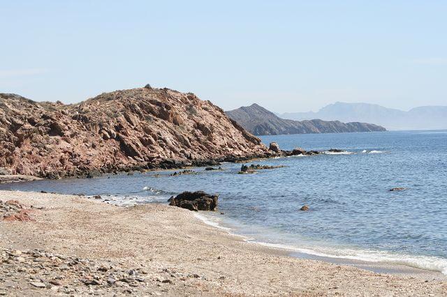Bucht bei Aguilas-Spanien