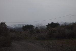 Spanien Schnee 2017